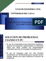 Solucion de Problemas Usando Un PC