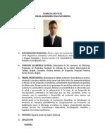CV Alejandro Vega Castañeda