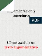 argumentacion y conectores