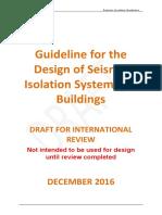 PeerReview Dec2016 Seismic Isolation Guidelines-Nueva Zelanda