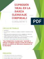 SESION DE APRENDIZAJE N° 1 DANZAS QUINTO