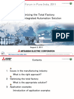 Optimizing the Total Factory