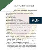ASMA YASIRON 1001 HAJAT.pdf