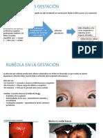 Rubéola y Sífilis en La Gestación