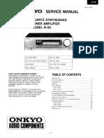 Manual Onkyo-R-05