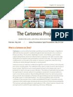 english 101 - the cartonera project  final