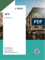 Proposal Field Trip 2019