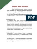 Act 8 Clasificación Del Acto Administrativo