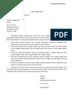 Format Surat Pernyataan 2019