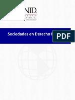 Sociedades Enn Derecho Mercantil