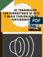 lineas de transmisión eléctrica