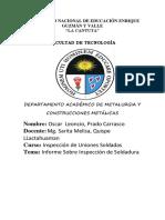Inspeccion Oscar Prado
