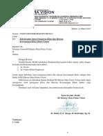 surat undangan kredensial