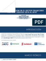 Analisis Del Capm en El Sector Financiero