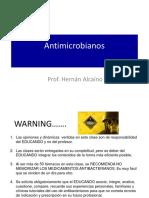 Antibióticos y mecanismos de acción