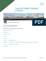 Cisco Secure SD-WAN Viptela v31 Instant Demo 191004
