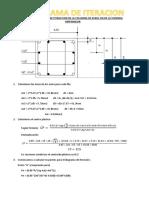 Diagrama de Iteraccion Para La Columna