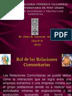 Clase 01 -Relaciones Comunitarias-maestria Unfv-2015