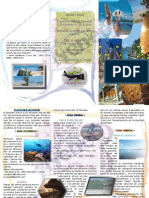 brochure rutas turísticas