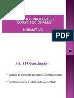 3. Normativa Derechos Procesales