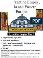 Byzantine empire notes