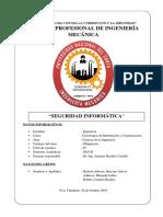 Informe de Tic - Seguridad Informatica