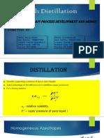 Batch Distillation NEW