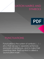 Punctuation Marks and Symbols