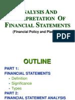 Financial Statement Analysis Demo