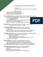 Acsm Personal Trainer Exam Study Guide