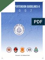 Indian Hypertension Guidelines-2