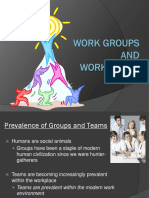 Group Behavior, Teams, And Conflict