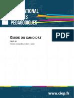 Guia para el candidato de frances A1