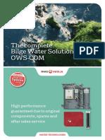 Oily Water Separator RWO-COM