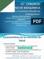 Gestion Compras Enfoque Calidad Congreso Bioq 2017
