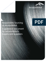 ArcelorMittal Responsible Sourcing Guide