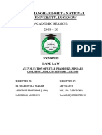 Land Law Synopsis