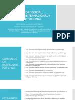 Seguridad Social. Norma Internacional y Constitucional. Sistemas.