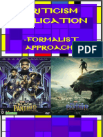 Formalist Approach Panther