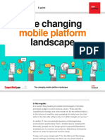 The Changing Mobile Platform