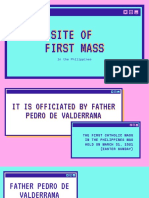 Site of the First Mass