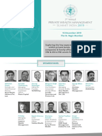 3rd Annual Private Wealth Management Summit 2019