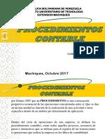 procedimientos contable