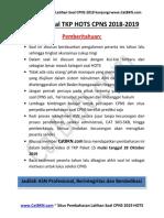 Latihan Soal TKP HOTS CPNS 2019 Paket 15 [Fix-share]