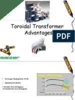Toroidal txr advantages
