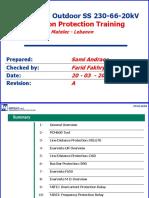 Substation Protection Training