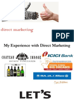 Direct Marketing Lecture 2 - 2019