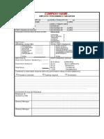 Fmad003 Employee Performance Evaluation