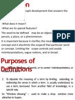 EAPP the Art of Defining