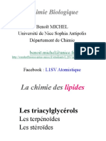 Cours 2 Chimie Lipides 2019